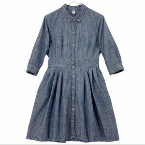 Cottagecore Cotton Dress with Pockets